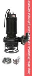 İmpo - 80QNS 42.2 3 Hp Trifaze Endüstriyel Tip, Uzun Süreli Çalışmaya Dayanıklı Çamur Pompası 1450 d/d Çıkış 3