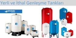 - Dikey Yerli Ürün Hidrofor Tankı 100 LT
