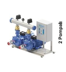 SUMAK - Emişli Çift Kademeli Hidroforlar 2 Pompalı SMKTB550/2 2x4 Kw