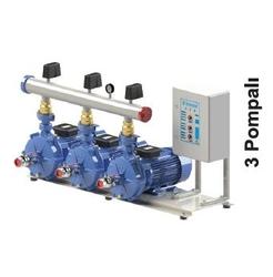 SUMAK - Emişli Çift Kademeli Hidroforlar SMKTC750/2 3x5.5 Kw