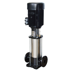 E-TECH - E-Tech EV 95/05-2a F 50 HP Paslanmaz Dik Milli Çok Kademeli Hidrofor (Tek Pompa)