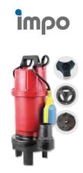 İMPO - Öğütücülü Pis Su Drenaj Pompası QDX15-7-1.1F 1,5 HP 220v