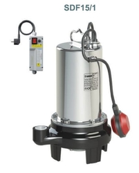 SUMAK - SDF15/1 Temiz Su Dalgıç Pompa ( 10 mt kablolu, flatörlü, panolu )