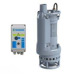 SUMAK - SDT50/3Z Gövde Soğutmalı Drenaj Pompası ( 10 mt kablolu, flatörlü, panolu )