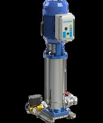 SUMAK - Sumak SHTPD8 C 400/12 Düşey Milli Kademeli Paslanmaz Çark Ve Difüzörlü Hidrofor